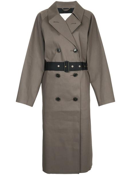 Mackintosh coat black coat women cotton black grey taupe