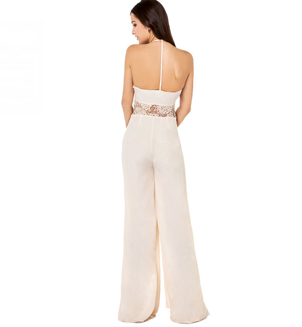jumpsuit stylemoi prom dress elegant dress evening dress