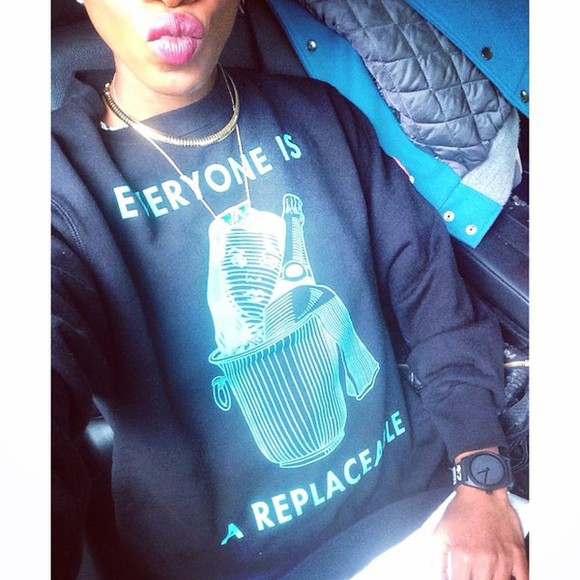 quote on it rihanna melissa forde long sleeve fall hoodie