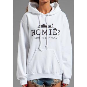 Brian Lichtenberg Homies Pullover Hoodie - Polyvore