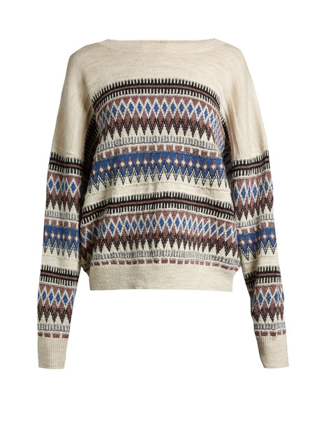 Isabel Marant etoile sweater oversized cream