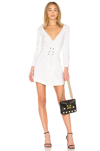 LPA dress white