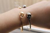 jewels,skull,bracelets,bershka,zara,gold,silver,tumblr,serene,boho