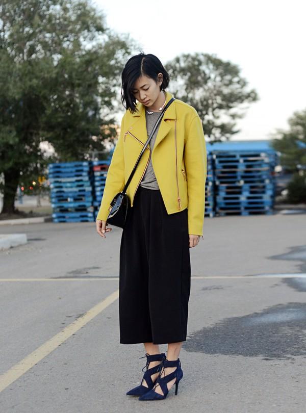 ordinary people blogger shoes jewels bag jacket t-shirt lemongrass