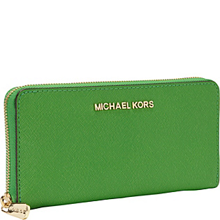MICHAEL Michael Kors Jet Set Travel Zip Around Continental Wallet - Handbags.com