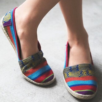 shoes divergence clothmg boho divergence clothing flats summer outfits espadrilles rainbow shirt rainbow print coachella fashion coachella summer 2015