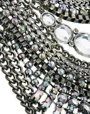 New Look | New Look – Grunge-Halskette bei ASOS