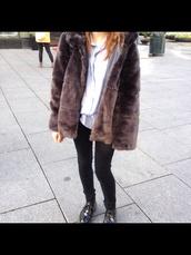 vintage,fake fur jacket,fur coat,fur jacket,fur vest,hat,shoes,black,white dress,jeans,style,grunge shoes,grunge,grunge top,grunge t-shirt,grunge jean jacket,grunge boots,grunge romper,grunge dress,alternative,alternative rock,punk,punk jacket,boho,hippie,cute dress,t-shirt,american apparel,topshop,sexy dress,boots,stylish,vintage boots,girl,blouse,coat,shorts