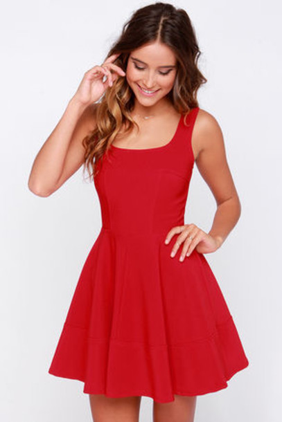 dress red dress girly girl beautiful fashion beautiful red dress