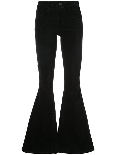 CITIZENS OF HUMANITY women spandex cotton black pants