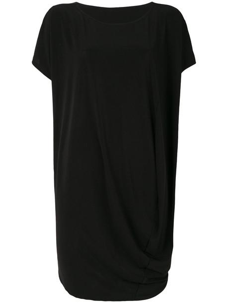 Issey Miyake dress midi dress women midi draped black