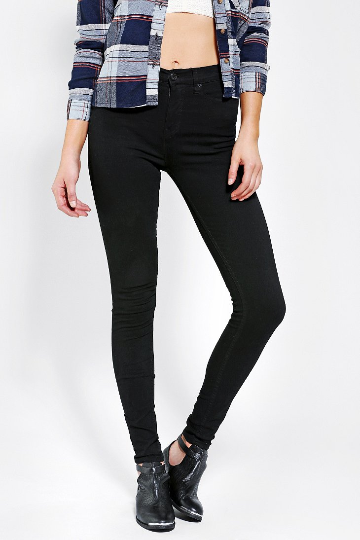 BDG Twig High-Rise Jean - Black - Urban Outfitters