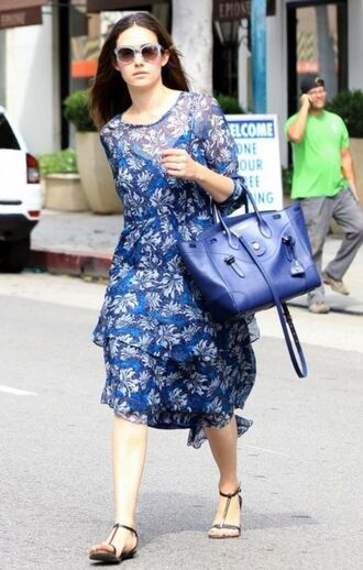 dress midi dress emmy rossum summer dress sandals