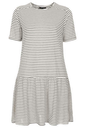 Stripe Drop Waist Tunic - Dresses  - Clothing  - Topshop