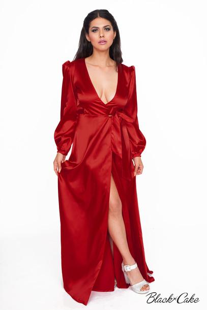 dress silk dress