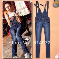 Shop Best selling!!women overalls high waist ladies slim ...