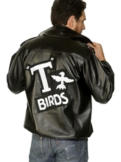 jacket,Grease,danny zuko,t birds,vintage,50s style,musicals,leather jacket