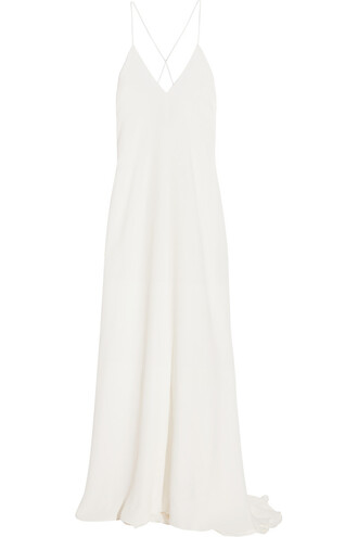 gown silk dress
