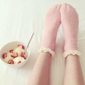 underwear,socks cute frill,socks