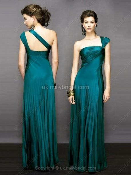 dress green prom dress long prom dress