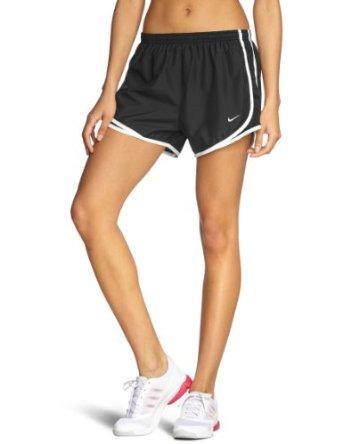 59311d22441a Amazon.com : Nike Lady Tempo Running Shorts - Medium - Black : Black Drifit  Shorts Women : Clothing