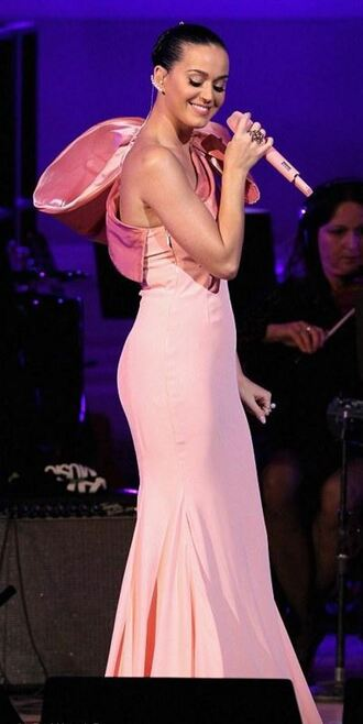 dress pink dress katy perry maxi dress gown