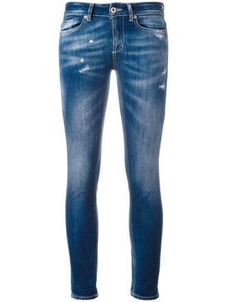 jeans skinny jeans women spandex light cotton blue