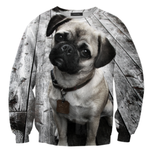 Mr. Gugu & Miss Go — Pug sweater