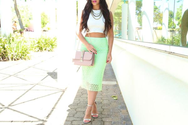 ktr style top skirt shoes bag sunglasses