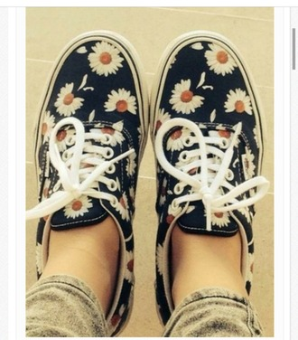 shoes vans sneakers daisy