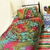 home accessory,bohemian,small duvet cover,multimatecollection,indian duvet cover set,bed decor