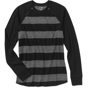Walmart: Op Men's Striped Rugby Raglan Tee