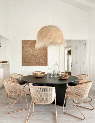 home accessory chair table round table home decor dining room