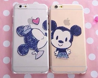 phone cover mickey mouse minnie mouse