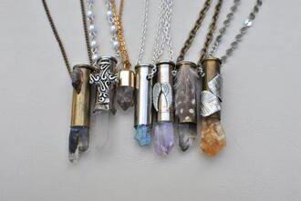 jewels stone necklaces stone necklace stone crystal quartz crystal necklace colourful stone colorful stone