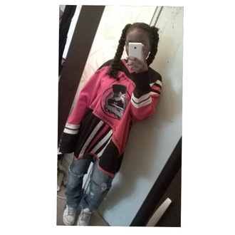 shirt dope hockey jersey red dress 90s style black girls killin it braid jeans style streetwear nike nike shoes ootd adidas sweater