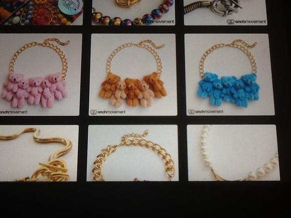 brown dress cute pink brown jewels teddies wholesalers teddy bear blue teddy fashion goldchain goldchains