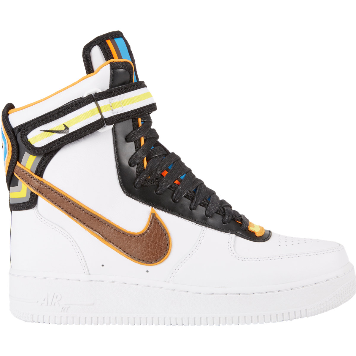 Air Force 1 High Leather Sneakers in White