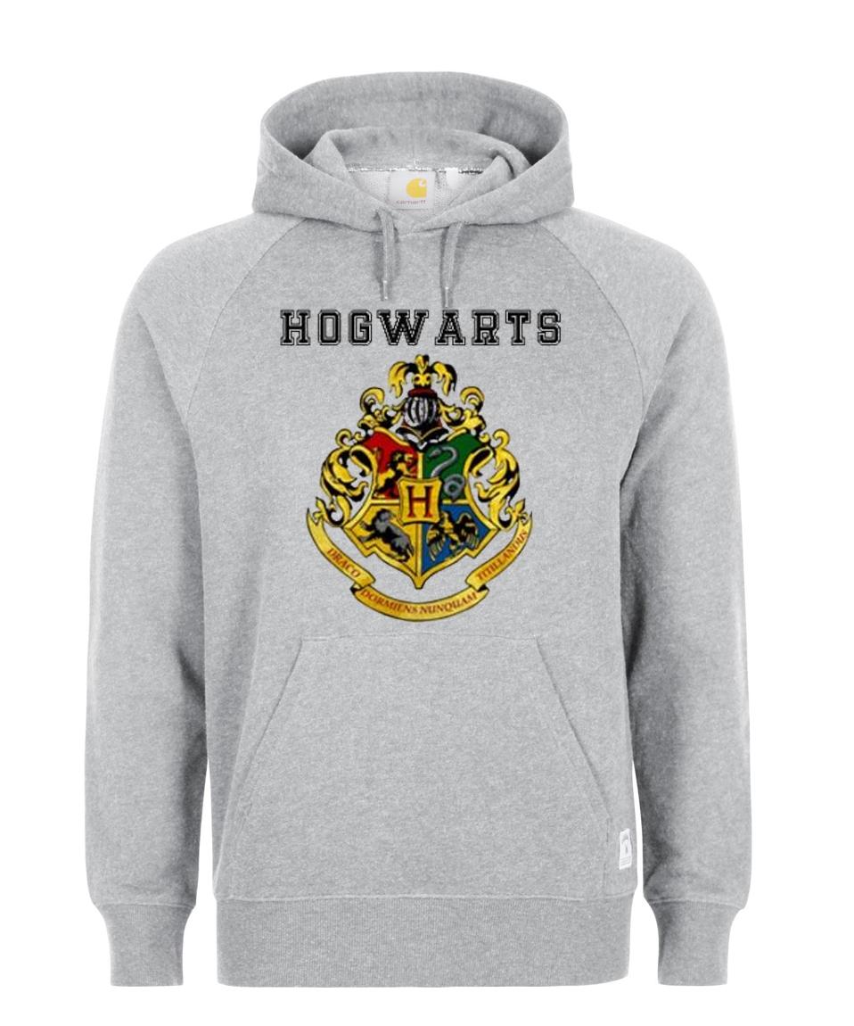Hogwarts Logo Harry Potter Hoodie - StyleCotton