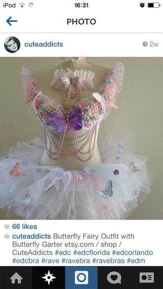 dress fairy kawaii tulle skirt pink