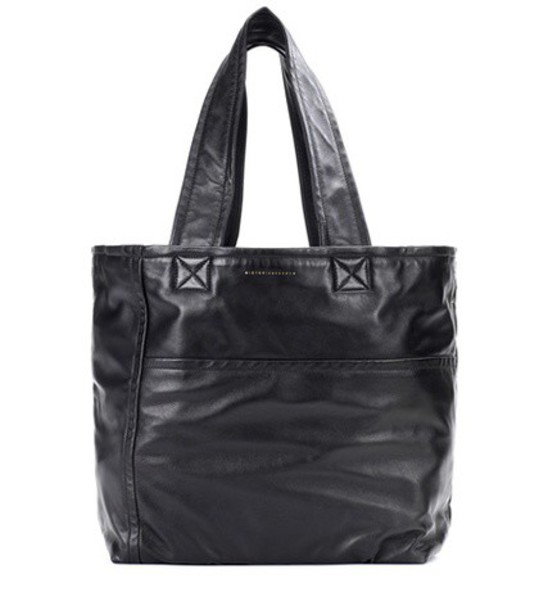 Victoria Beckham leather black bag