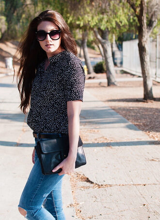 these days blogger blouse jeans shoes bag