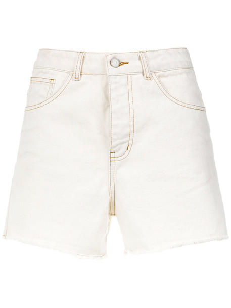 shorts denim shorts denim women white cotton