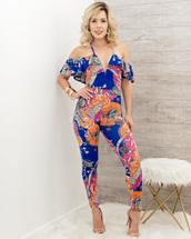 jumpsuit,moda fina boutique,elaine sleeveless ruffle jumpsuit