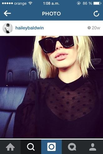 sunglasses hailey baldwin