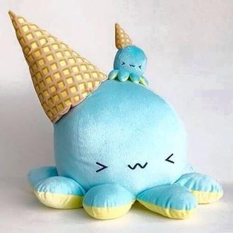 home accessory stuffed animal kawaii octopus ice cream kids room kawaii accessory