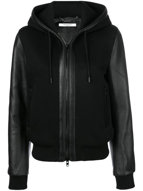 Givenchy jacket hooded jacket women black