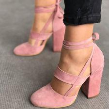Strappy Block 10 Heels for Women | eBay
