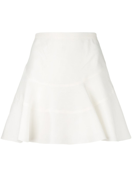 skirt women white cotton silk