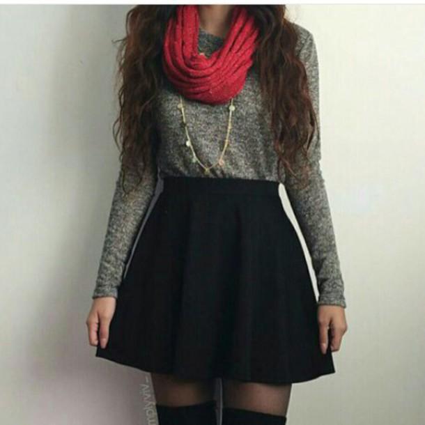top grey top long sleeves